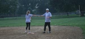 softball fist